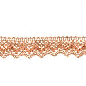 Bobine 25 m Dentelle coton 25 mm
