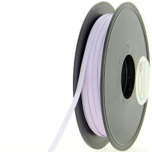 Bobine 50 m satin double face 3 mm 100% Polyester