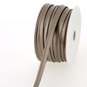 Bobine 25 m Passepoil simili cuir 10 mm