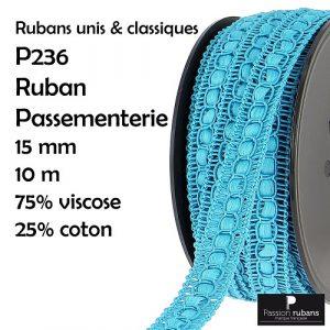 Bobine 10 m Ruban passementerie 15 mm