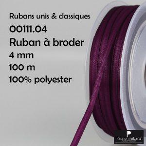 Bobine 100 m Ruban à Broder 4 mm