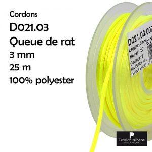 Bobine 25 m Queue de rat 3 mm