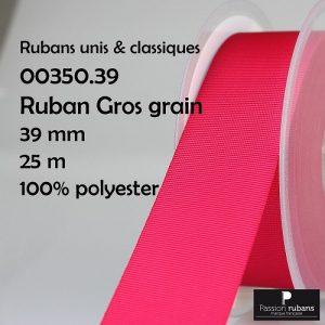 Disquette 25 m Gros grain 39 mm